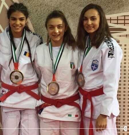 Claudia Di Blas bronzo al mondiale di Ju Jitsu