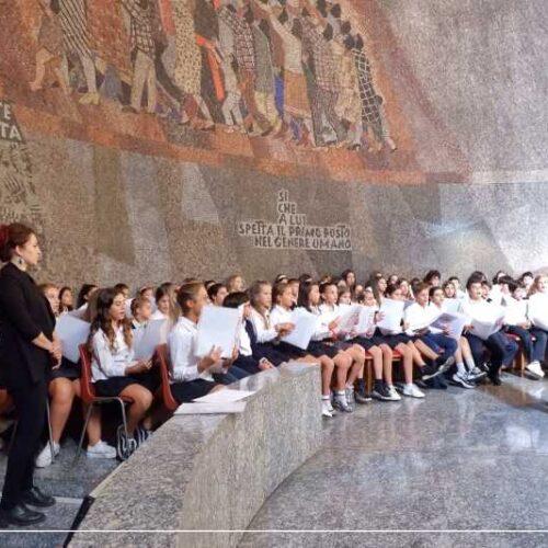 S. Messa di inizio anno scolastico – Il messaggio della Presidente