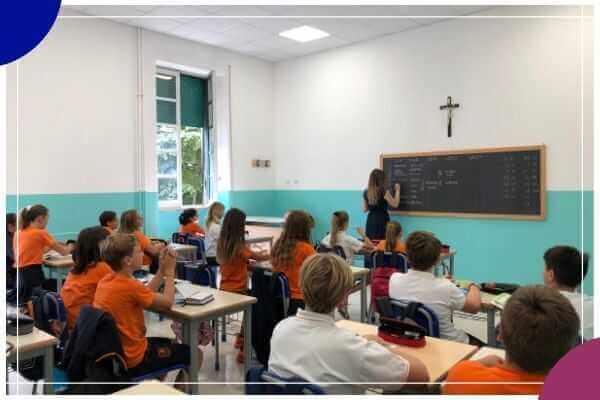 Scuola media Istituto Cristo Re - Roma quartiere Trieste