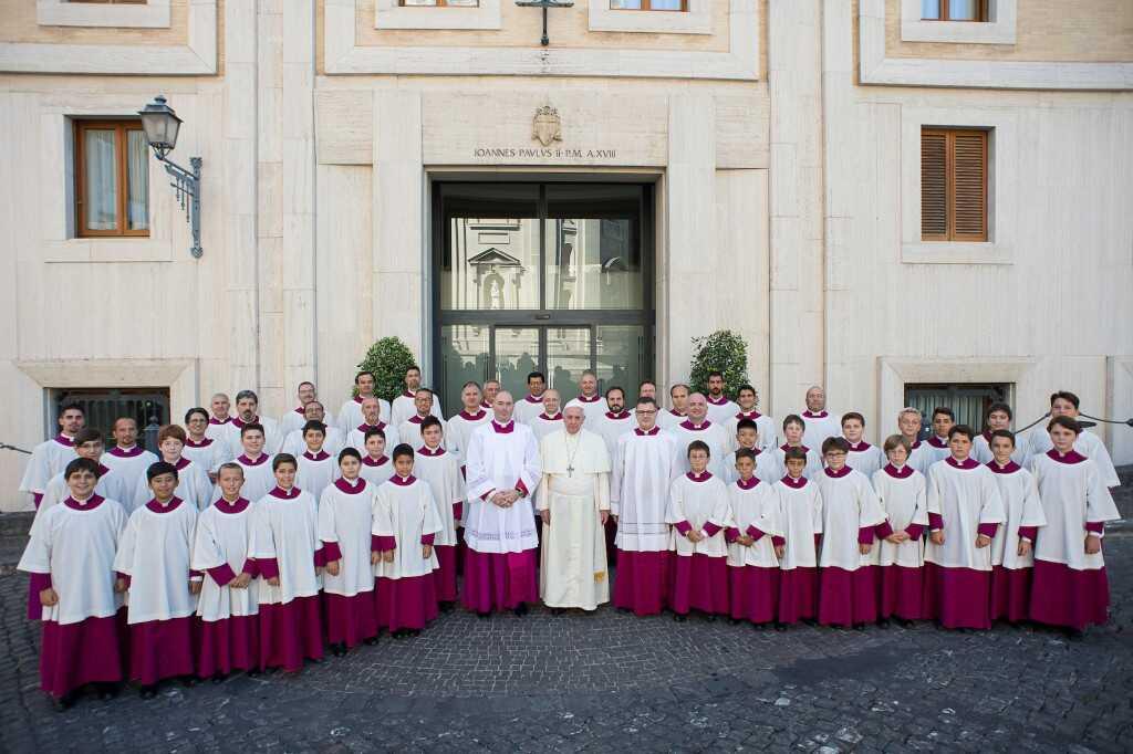 """Selezioni Cappella Musicale Pontificia """"Sistina"""""""